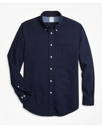 Brooks Brothers - Slim Fit Seersucker Sport Shirt - Lyst