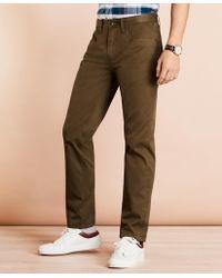 Brooks Brothers Herringbone Five-pocket Pants - Multicolor