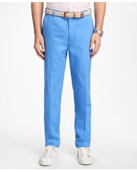 Brooks Brothers - Clark Fit Supima® Cotton Stretch Chinos - Lyst