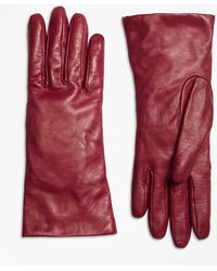 Brooks Brothers - Cashmere Lined Leather Gloves - Lyst