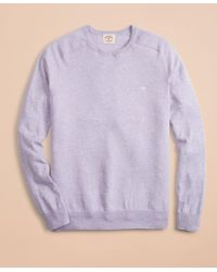 Brooks Brothers - Cotton-cashmere Crewneck Sweater - Lyst
