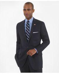 Brooks Brothers | Fitzgerald Fit Saxxon Wool Herringbone 1818 Suit | Lyst