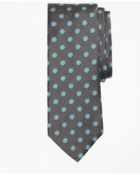 Brooks Brothers - Textured Framed Flower Tie - Lyst