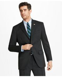 Brooks Brothers Madison Fit Three-button 1818 Suit - Gray