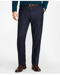 Brooks Brothers - Madison Fit Stretch Wool Trousers - Lyst
