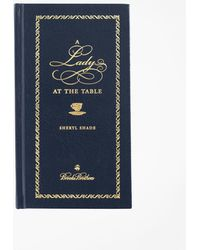 Brooks Brothers A Lady At The Table Book - Blue