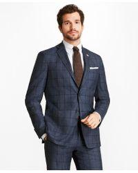 Brooks Brothers - Regent Fit Brookscloudtm Windowpane 1818 Suit - Lyst