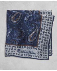 Brooks Brothers - Golden Fleece® Paisley Pocket Square - Lyst