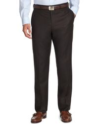 Brooks Brothers - Fitzgerald Fit Plain-front Flannel Trousers - Lyst