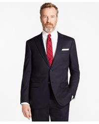 Brooks Brothers - Madison Fit Stretch Wool Two-button 1818 Suit - Lyst