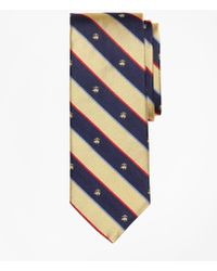 Brooks Brothers - Argyll And Sutherland With Golden Fleece Stripe Tie - Lyst
