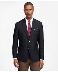 Brooks Brothers | Milano Fit Two-button Classic 1818 Blazer | Lyst