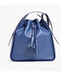 Brooks Brothers - Leather Bucket Bag - Lyst