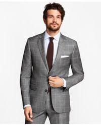 Brooks Brothers - Regent Fit Double-windowpane 1818 Suit - Lyst