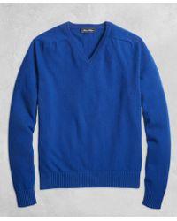 Brooks Brothers - Golden Fleece® 3-d Knit Cashmere Crewneck Sweater - Lyst