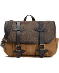 Brooks Brothers - Exclusive Filson® Fabric And Leather Messenger Bag - Lyst