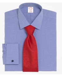 Brooks Brothers | Non-iron Madison Fit Spread Collar French Cuff Dress Shirt | Lyst