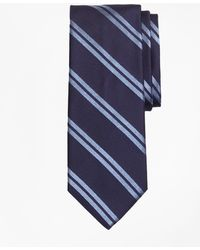 Brooks Brothers - Textured Heathered Double Stripe Tie - Lyst