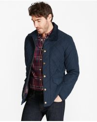 Brooks Brothers - Quilted Field Coat - Lyst