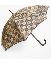 Brooks Brothers - 200th Anniversary Special-edition Gold Stick Umbrella - Lyst