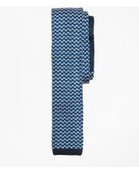 Brooks Brothers - Patterned Silk Knit Tie - Lyst