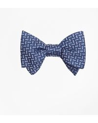 Brooks Brothers | Squares Bow Tie | Lyst