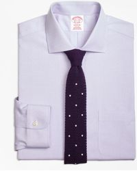 Brooks Brothers - Non-iron Madison Fit English Collar Dobby Dress Shirt - Lyst