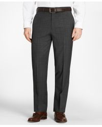 Brooks Brothers - Madison Fit Plaid Trousers - Lyst