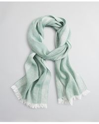 Brooks Brothers Cashmere And Linen Scarf - Green