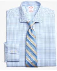 Brooks Brothers - Madison Classic-fit Dress Shirt, Non-iron Glen Plaid - Lyst