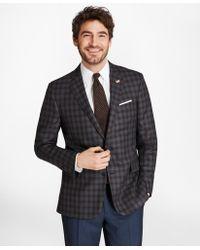 Brooks Brothers - Regent Fit Saxxontm Wool Check Sport Coat - Lyst