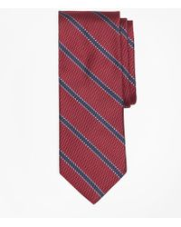 Brooks Brothers - Dotted Framed Stripe Tie - Lyst