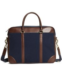 Brooks Brothers - Canvas Soft Briefcase - Lyst