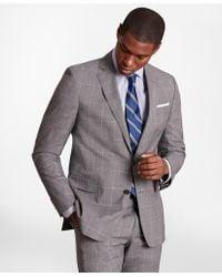 Brooks Brothers - Brooksgatetm Regent-fit Windowpane Wool Suit Jacket - Lyst