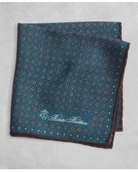Brooks Brothers - Golden Fleece® Dot And Paisley Pocket Square - Lyst