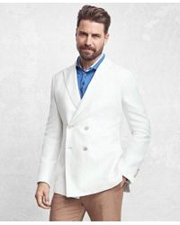 Brooks Brothers - Golden Fleece® Double-breasted Twill Sport Coat - Lyst