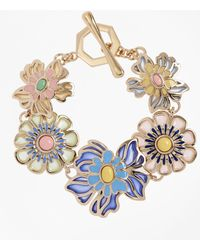 Brooks Brothers - Floral Bracelet - Lyst