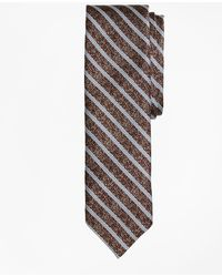 Brooks Brothers - Heathered Stripe Silk Jacquard Tie - Lyst