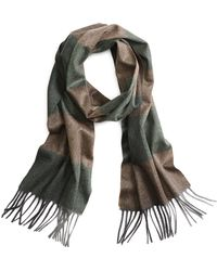 Brooks Brothers - Cashmere Color-block Scarf - Lyst