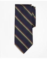 Brooks Brothers | Split Bar Stripe Tie | Lyst