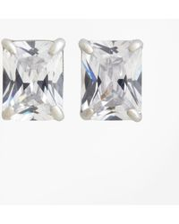 Brooks Brothers | Pierced Square Stud Earrings | Lyst