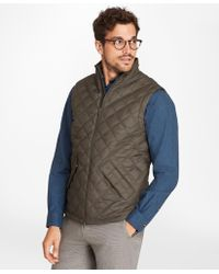 Brooks Brothers - Quilted Vest - Lyst