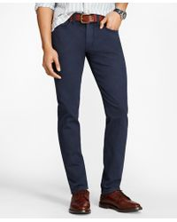 Brooks Brothers | Slim-fit Garment-dyed Jeans | Lyst