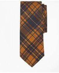 Brooks Brothers - Ancient Madder Plaid Print Tie - Lyst