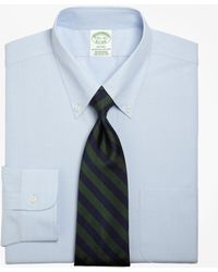 Brooks Brothers - Milano Fit Button-down Collar Dress Shirt - Lyst