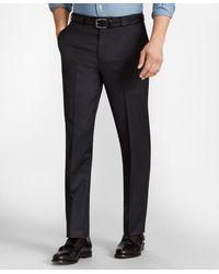 Brooks Brothers Brooksflextm Regent-fit Wool Pants - Multicolor