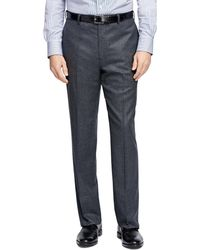 Brooks Brothers - Madison Fit Plain-front Flannel Trousers - Lyst