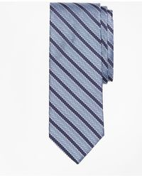 Brooks Brothers - Dot Framed Stripe Tie - Lyst