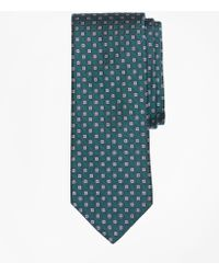 Brooks Brothers - Squares And Polka Dots Tie - Lyst