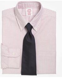 Brooks Brothers - Milano Fit Stripe Dress Shirt - Lyst